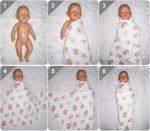 Как пеленать детей видео – Как правильно пеленать новорожденного: алгоритм действий, видео