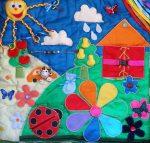Шьем развивающий коврик – как сделать детский коврик для малышей